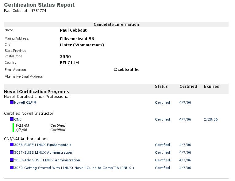 linux system administrator cv